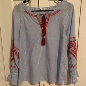 Crown and Ivy Boho Blouse Size XS
